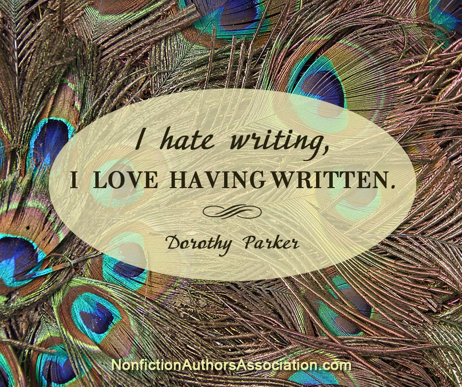 Dorothy Parker Quote - Nonfiction Authors Association