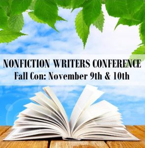 Nonfiction Writers Conference Fall 2017
