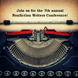 nonfiction writers conference typewriter