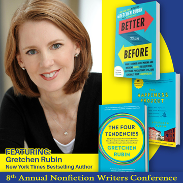 Gretchen Rubin – Happiness, Habits and Productivity for Writers