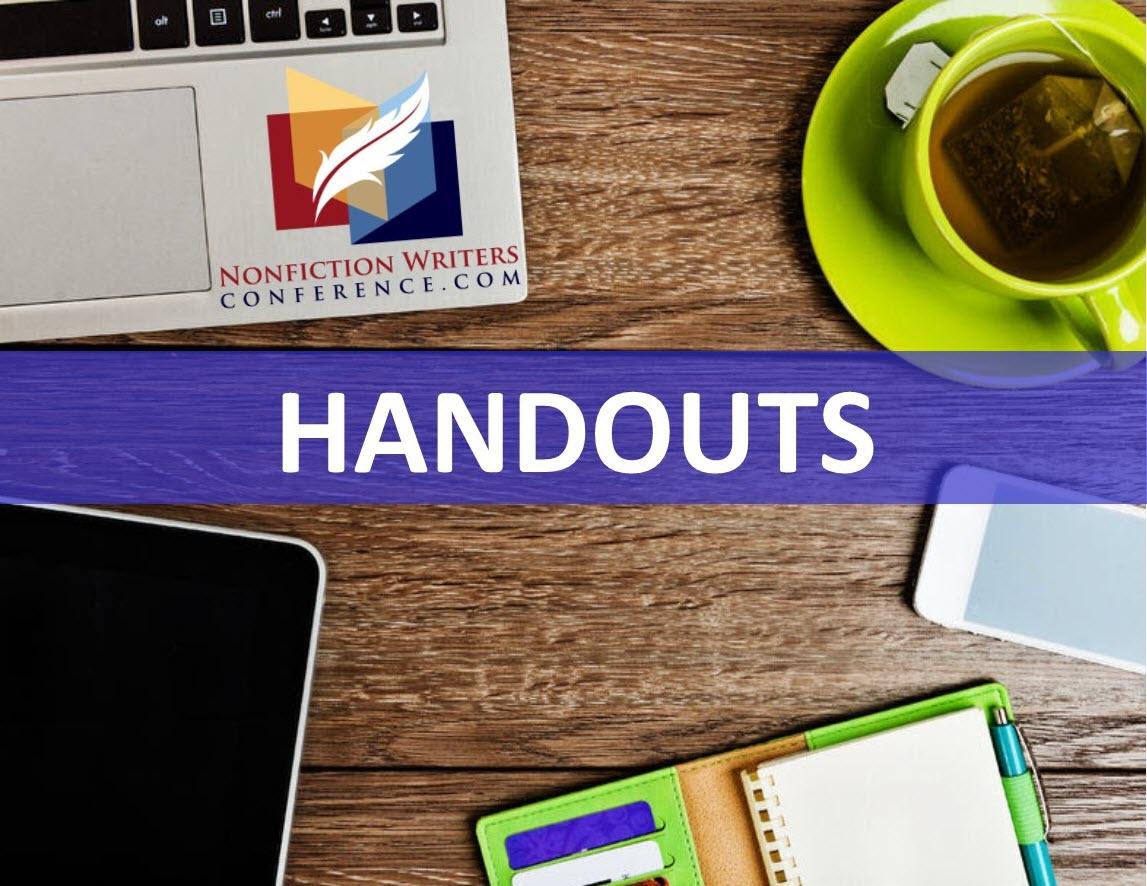 2019 Handouts