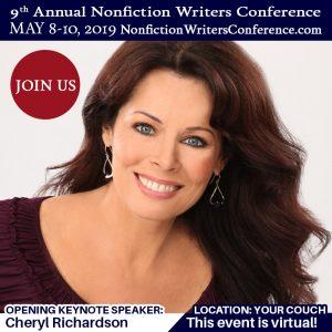 Nonfiction Writers Conference Keynote Speaker, Cheryl Richardson