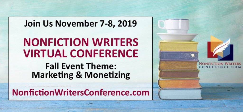 nonfiction writers conference fall 2019