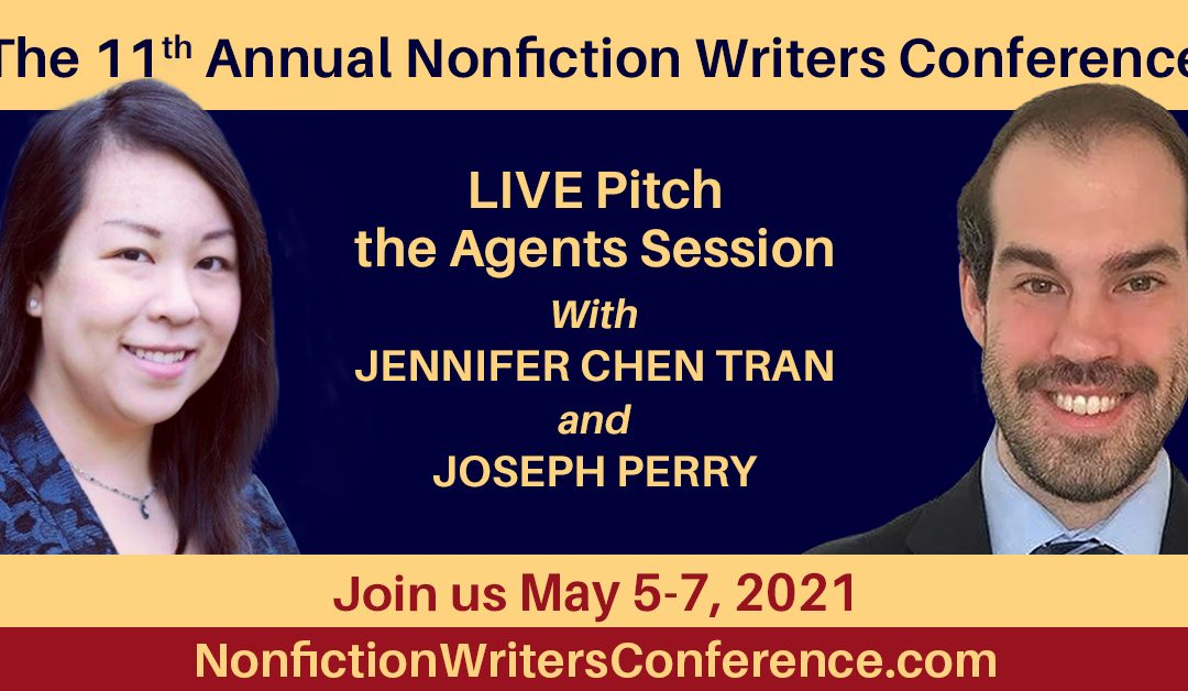 Jen Chen Tran & Joe Perry – Pitch the Agents! Live, Interactive Double Session