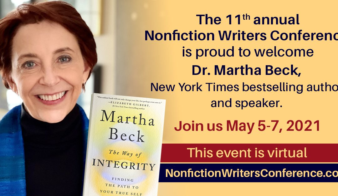 The Way of Integrity for Writers with Dr. Martha Beck